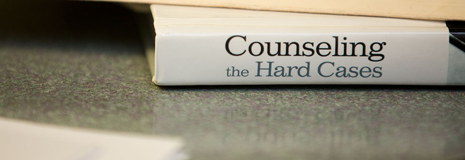 counseling book up close