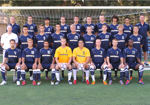 Men's Soccer Team Photo