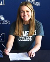 White Signs With Lady Mustang Soccer