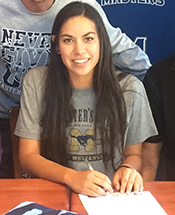 Lady Mustang Soccer Inks Lourenco