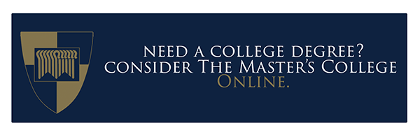 Consider The Master's College Online