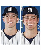 Mustang Duo Named to Capital One Academic All-District Baseball Team