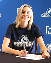 Mustang Volleyball Signs Jordan