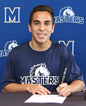 TMC Men's Soccer Signs Garcia Sosa