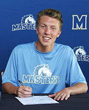 Men's Soccer Signs Thayer