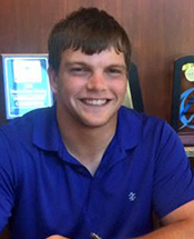 Mustang Golf Signs Stone