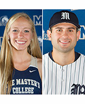 Frankian, Covello Named TMC's 2015-16 Athletes of the Year