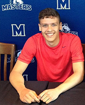 Atencia Signs With Mustang Basketball