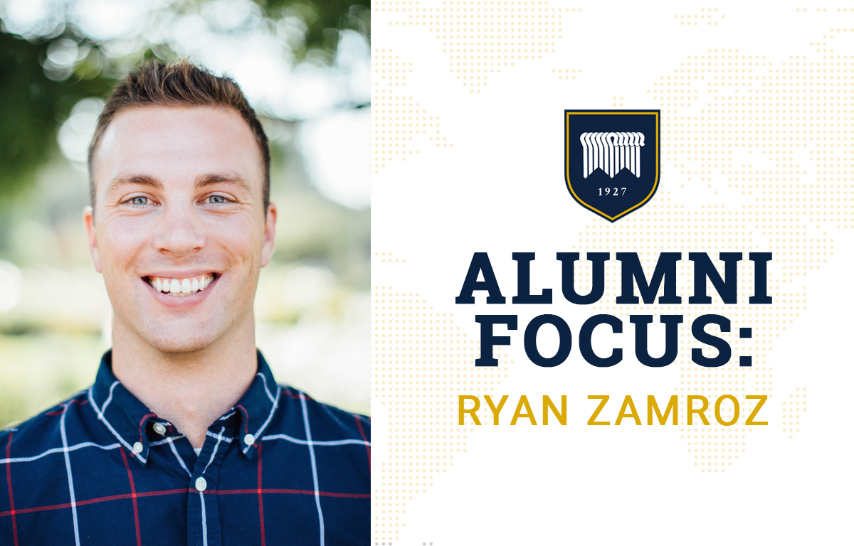 Alumni Focus: Ryan Zamroz image
