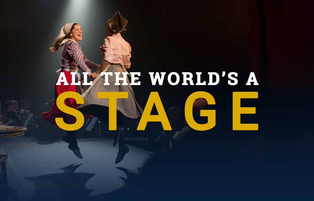 All the World's a Stage image