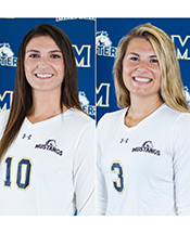 Mustang Volleyball Duo Nets Weekly GSAC Honors