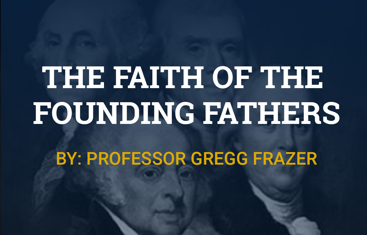 The Faith of the Founding Fathers image