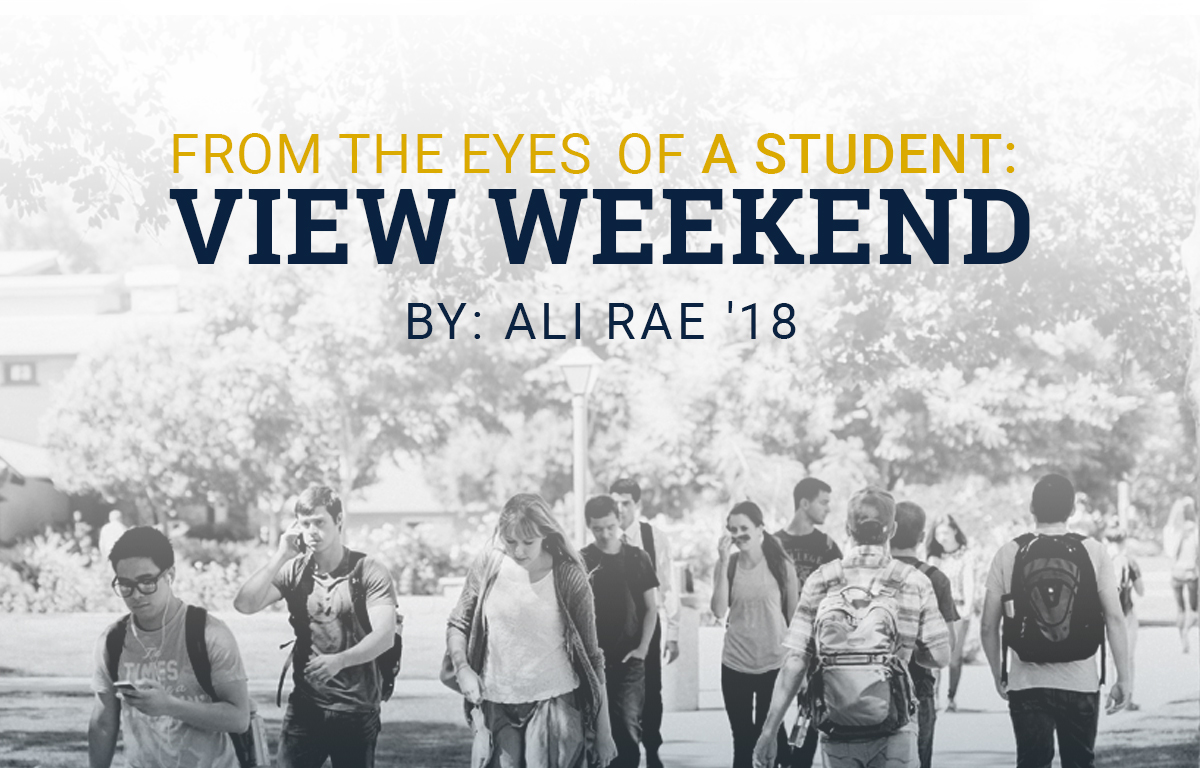 From the Eyes of a Student: View Weekend image
