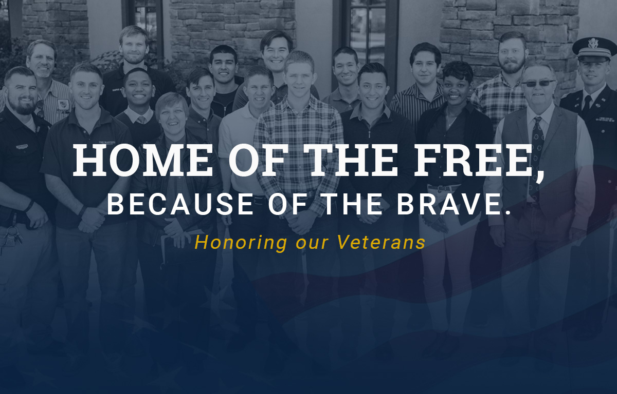 Land of the Free, Because of the Brave: Honoring Our Veterans image