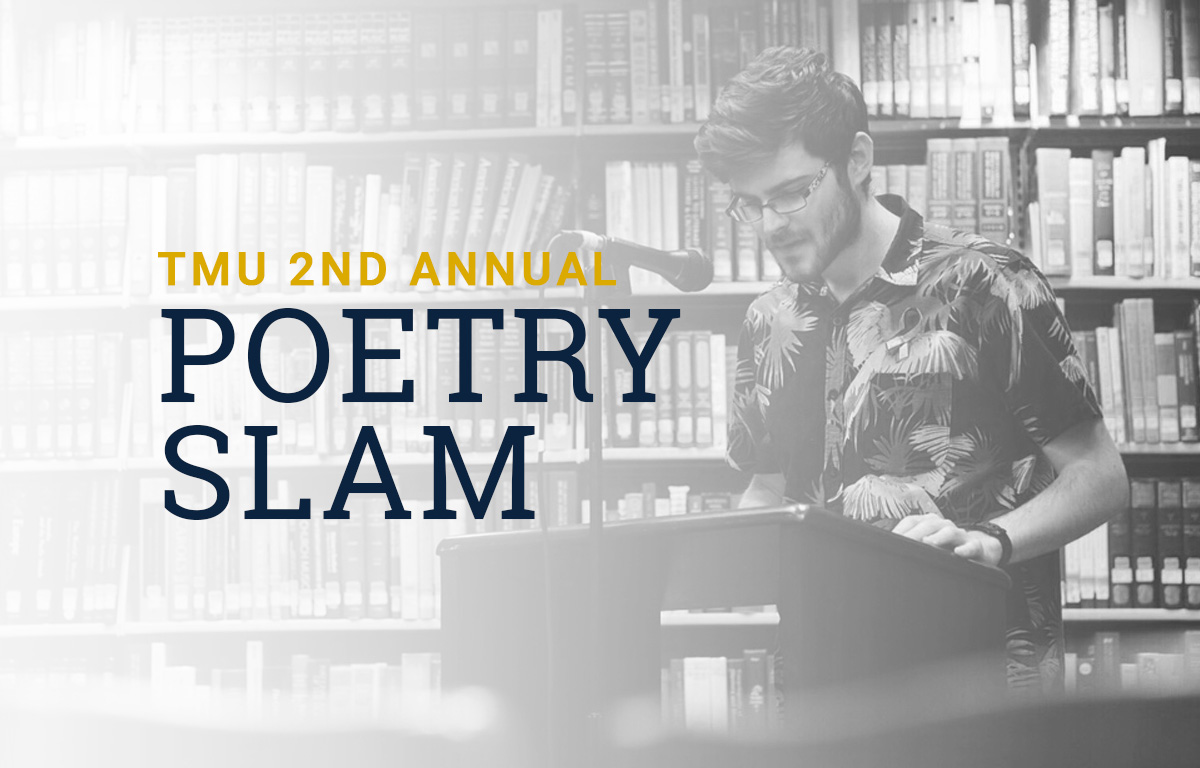 2nd Annual Poetry Slam image