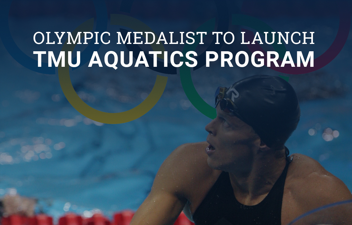 Olympic Medalist to Launch TMU Aquatics Program image