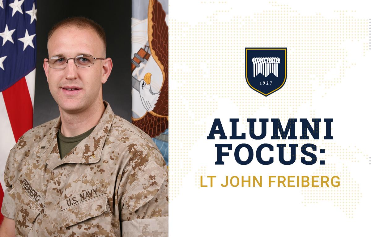 Alumni Focus: LT John Freiberg image