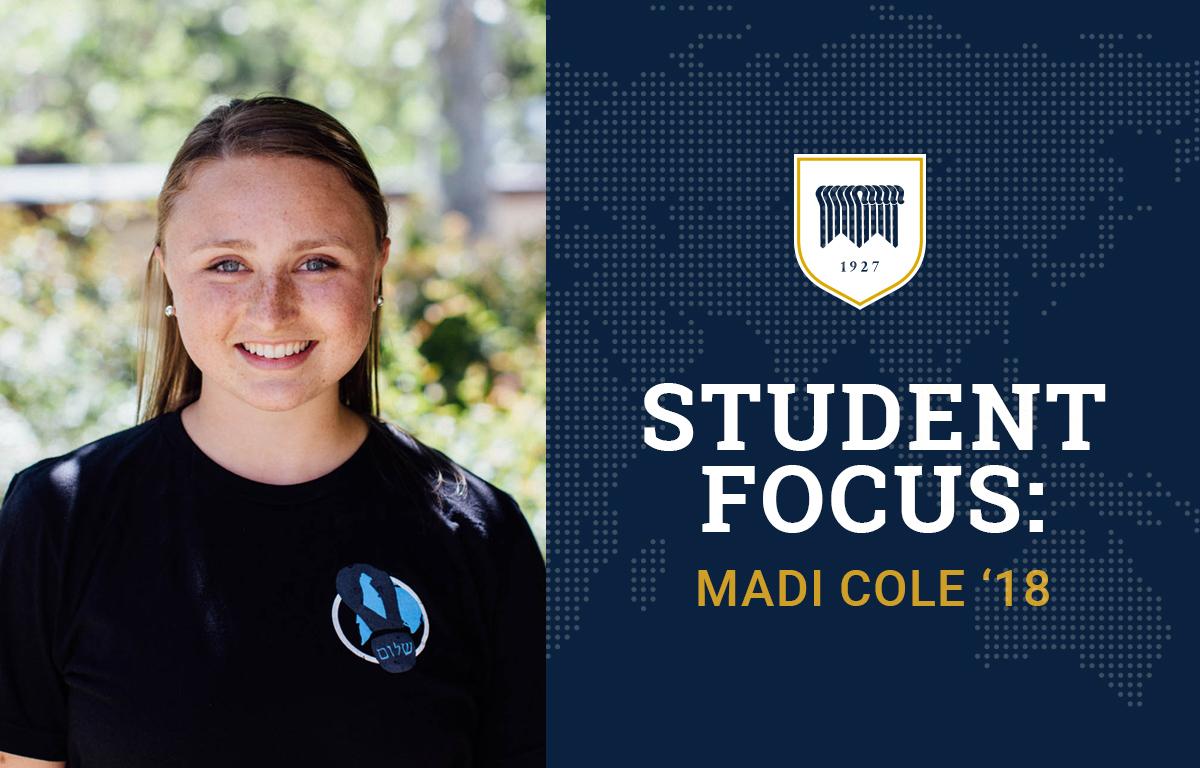 Student Focus: Madi Cole '18 image