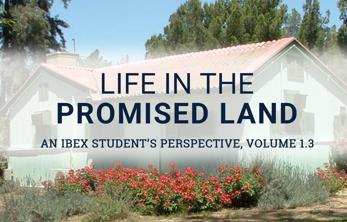 Life in the Promised Land: An IBEX Student's Perspective image
