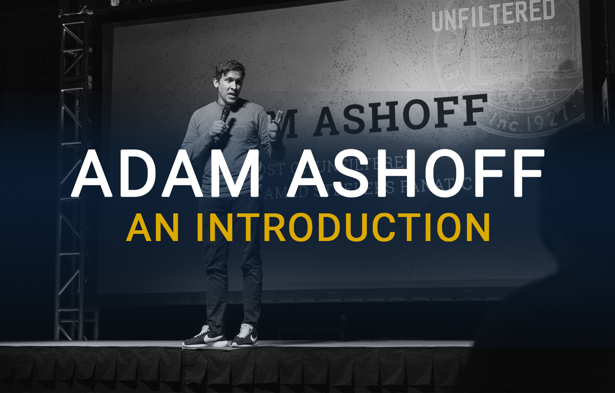 Adam Ashoff: An Introduction image